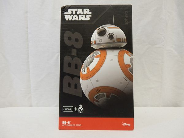 Sphero Star Wars BB-8 Droid App-Enabled Droid Guide with smartphone or tablet, voice recognition, holographic communication, adaptive personality.