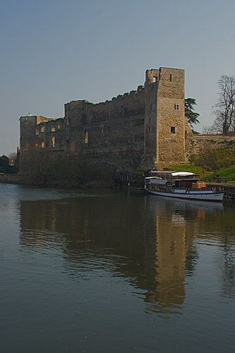 Newark Castle, Nottinghamshire, England. The place where King John died in 1216.