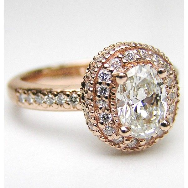 perfect! rose gold and vintage style! diamond band in 14K Pink Gold ... cute for right hand love it!!!!!