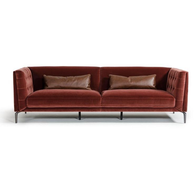Ansted Modern Velour Sofa Set – Shoppe Boulevard