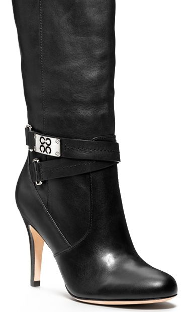 Black coach boots....Believe it or not, these are sooo comfortable,and they make you feel so sexy!! :)