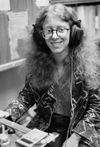 Terry Gross, host of Fresh Air back in the day  - The New York Times