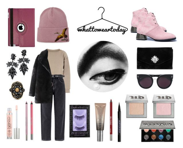 """""""What to wear today"""" by livefastdng ❤ liked on Polyvore featuring My Mum Made It, Gunne Sax By Jessica McClintock, Dsquared2, STELLA McCARTNEY, Natico, Fallon, Gucci and Urban Decay"""