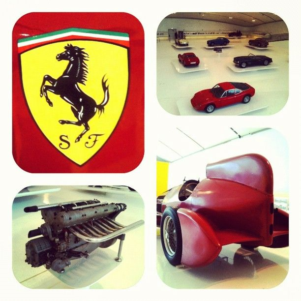 """""""Cars, engines & history at the @MCEnzoFerrari in Modena"""" - Instagram by @n_montemaggi"""