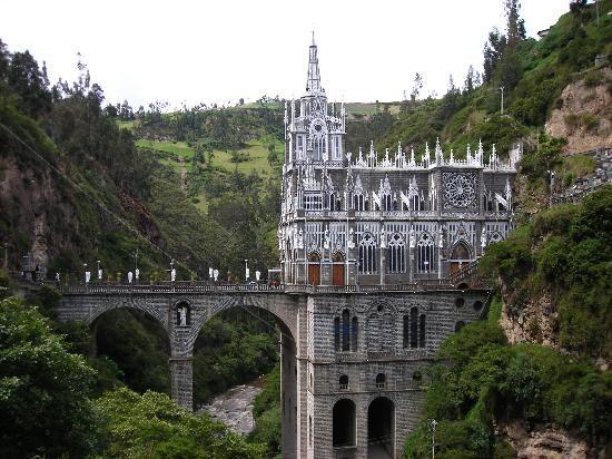 Le Sanctuaire de Las Lajas - Colombie