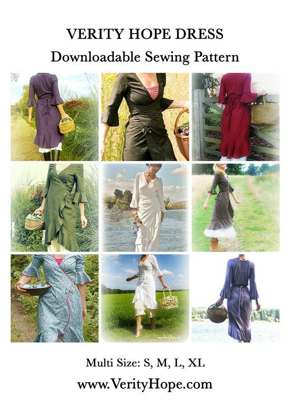 442 best sewing patterns images on pinterest sewing patterns verity hope dress feminine dress sewing pattern pdf dressmaking sewing project small medium large x large fandeluxe Gallery