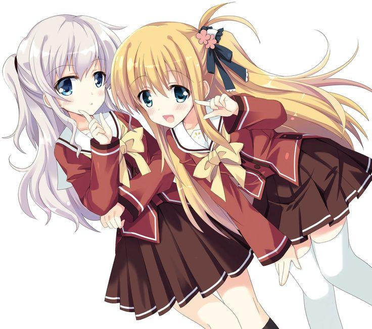 Anime Charlotte  Yusa Nishimori Nao Tomori Charlotte (Anime) Fondo de Pantalla