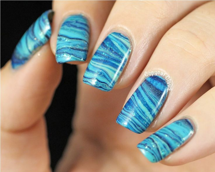 12 best Water Marble Nails images on Pinterest | Nail art ideas ...