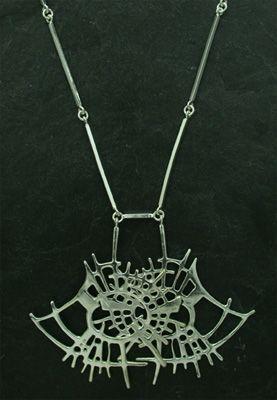 Regine Juhls, Tundra serie, silver necklace