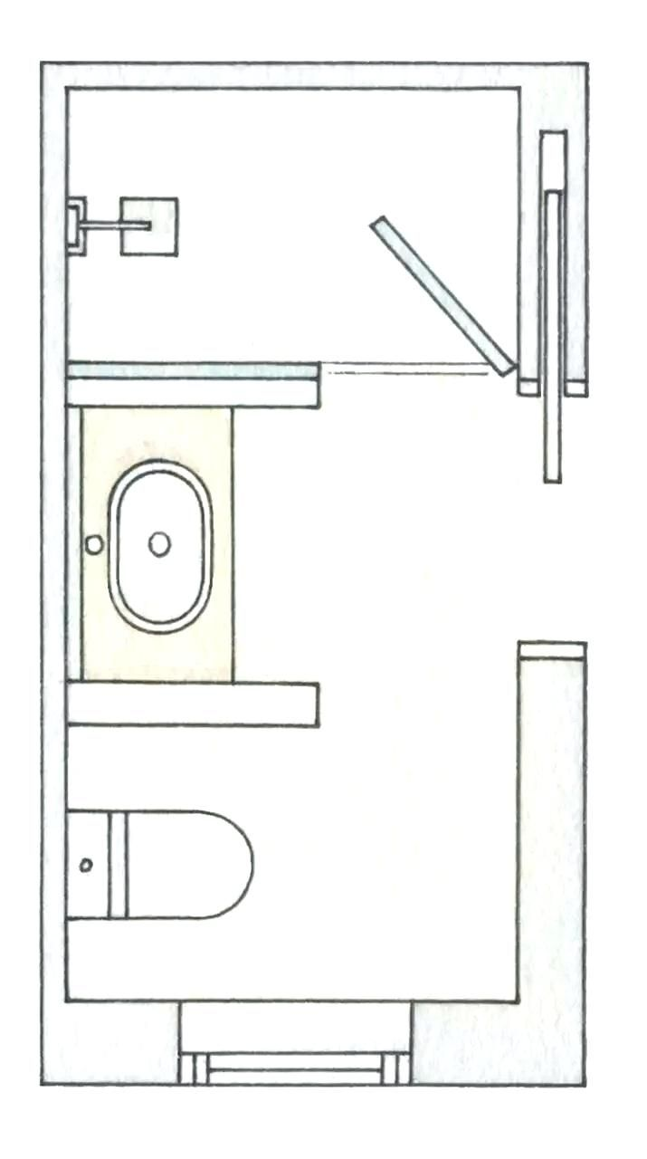 bathroom layout plans - Bathroom Remodel Layout