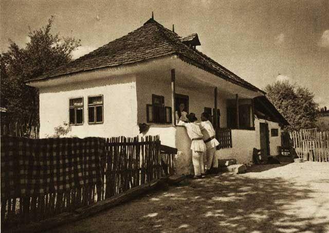 Voinesti,-case-taranesti - case traditionale romanesti