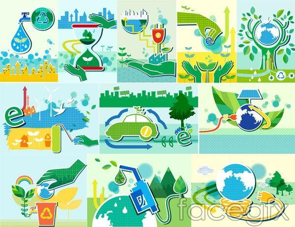 Energy and environmental vectors
