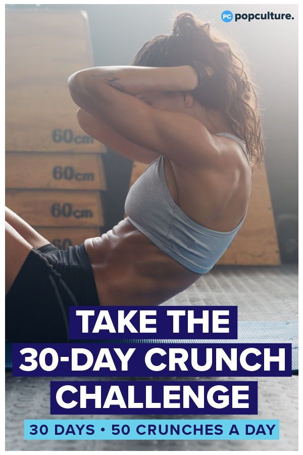 This Is What Happens When You Do 50 Crunches Every Day for