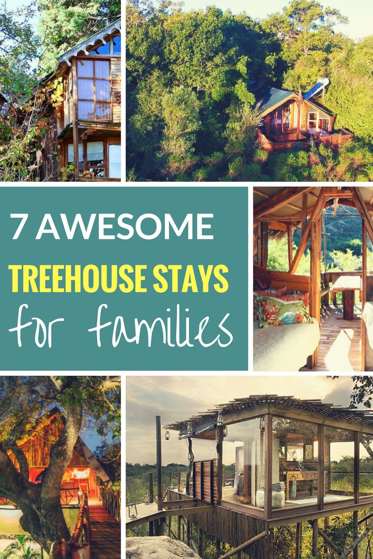 South Africa has its fair share of family-friendly treehouse stays and we've selected seven child-friendly ones for you to choose from...