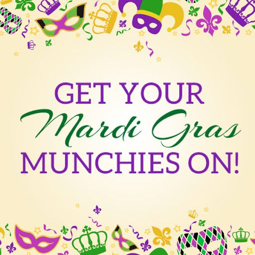 get your mardi gras munchies on!