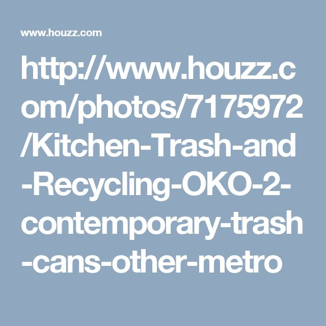 Real Simple Rolling Kitchen Island In White 300 Bed Bath: 1000+ Ideas About Contemporary Kitchen Trash Cans On