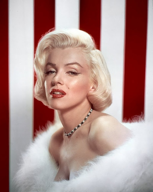 Marilyn Monroe often claimed to be blasse about fashion and clothes, but she was extremely strategic about what she wore. Few other celebrities have displayed such genius for carefully orchestrating their image. She singlehandedly created her iconic look - platinum blonde hair, inviting red pout and killer dresses to accentuate her perfect hourglass figure