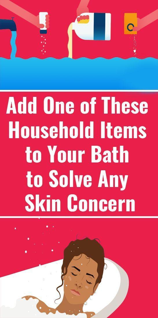 Fügen Sie einen dieser Haushaltsgegenstände zu Ihrem Bad hinzu, um Hautschüppchen zu lösen