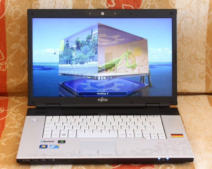 My boyfriend 's laptop !