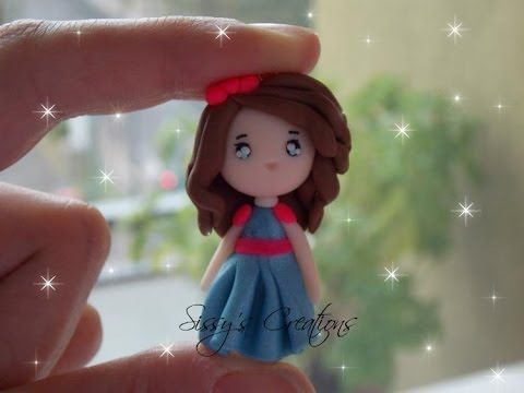 The making of FIMO doll - YouTube
