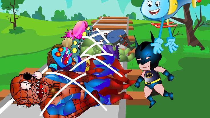 Superheroes Finger Family (Superheros Zombies Kidnapped) #Finger family ...