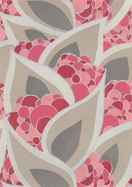 Raisin Papier Peint by rhiannon mars