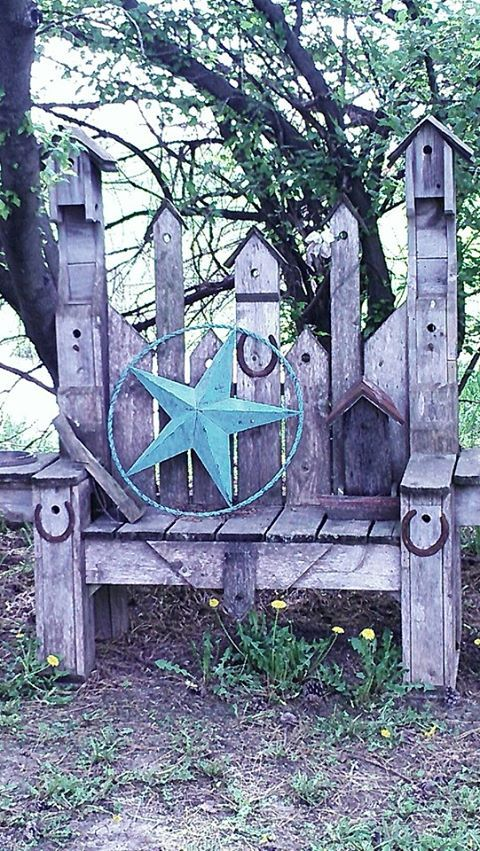 18 Best Birdhouse Benches Images On Pinterest Garden