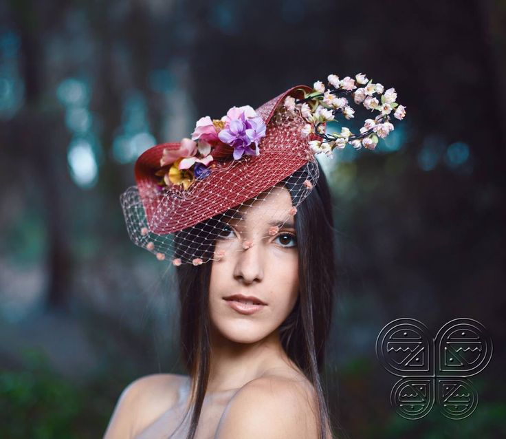 The Vera Headpiece available at www.catavassalo.com 72€ Magical garden perfect for a wedding in the sun!