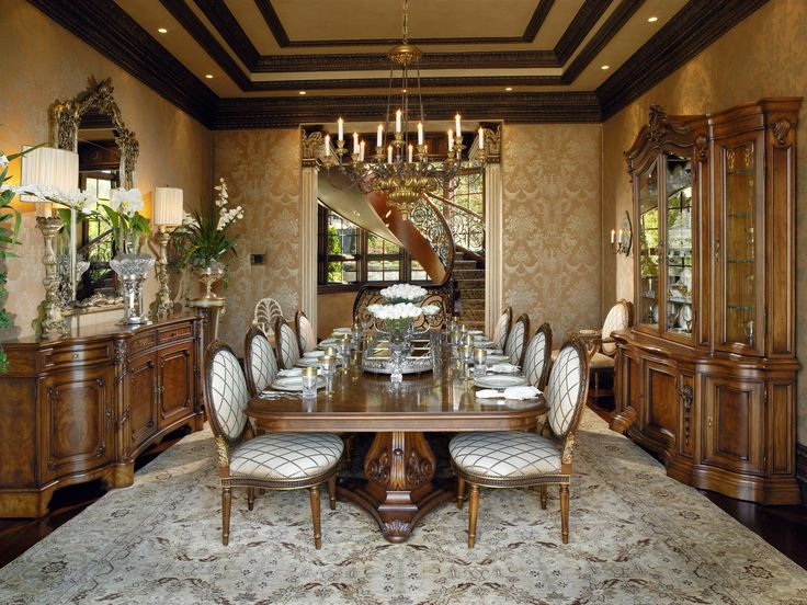 Custom Luxury Home Formal Dining Room