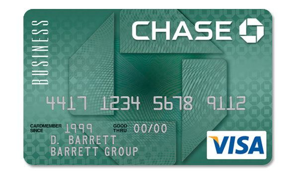 credit cards with company logo