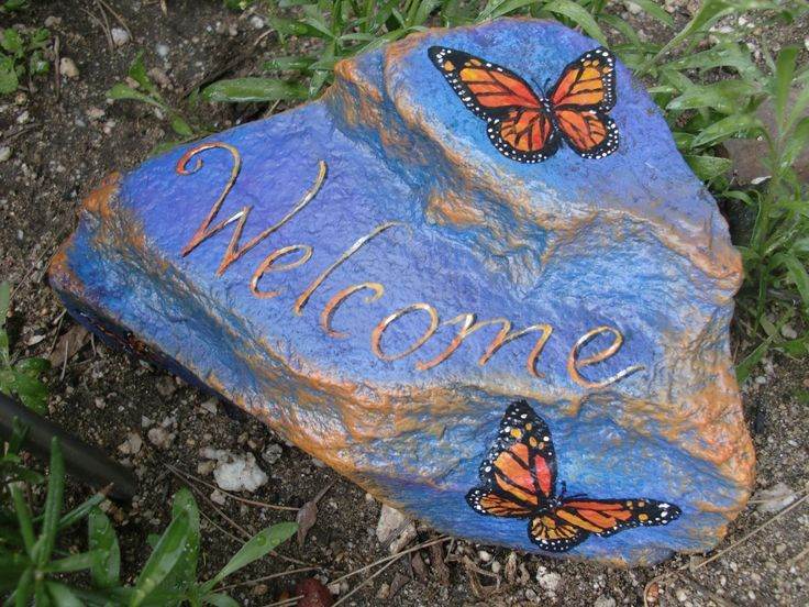 17 best images about rock painting on pinterest wall - Painting rocks for garden what kind of paint ...