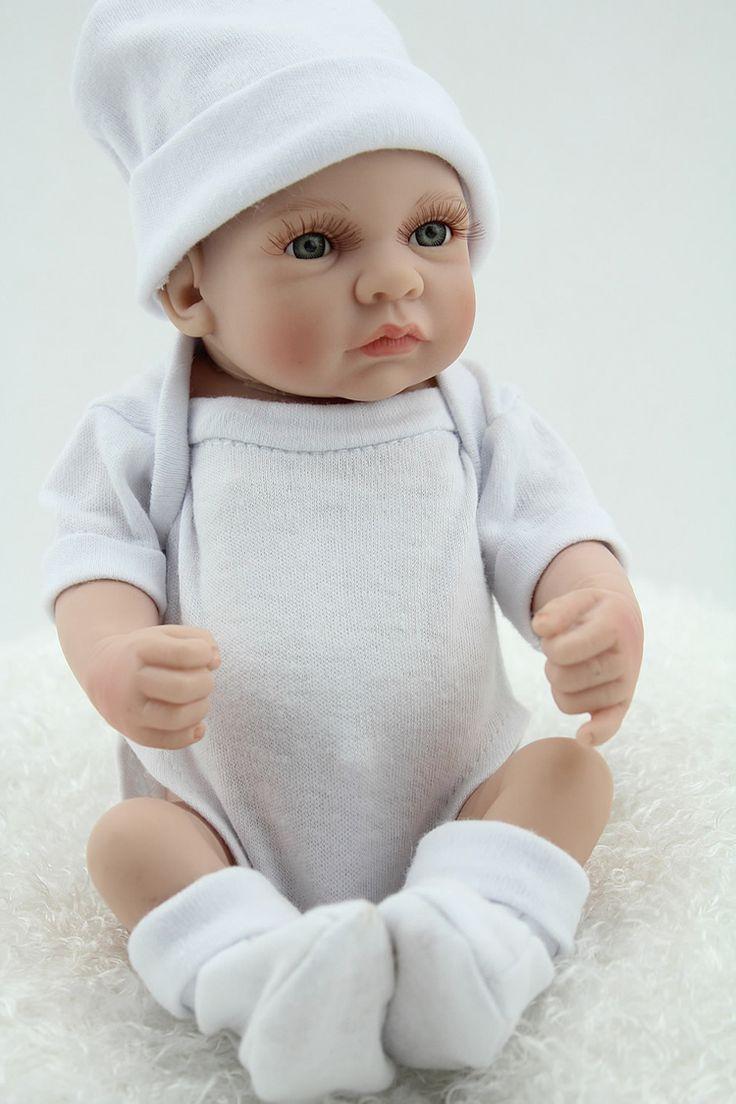 12 Inch 28cm Mini Silicone Reborn Baby Dolls For Alive Bonecas Best