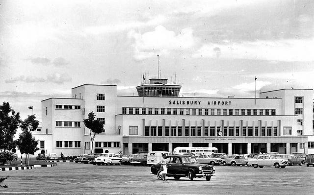 Salisbury Airport, Rhodesia, circa 1962