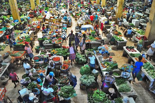 Market in the Capital, Sao Tome and Principe