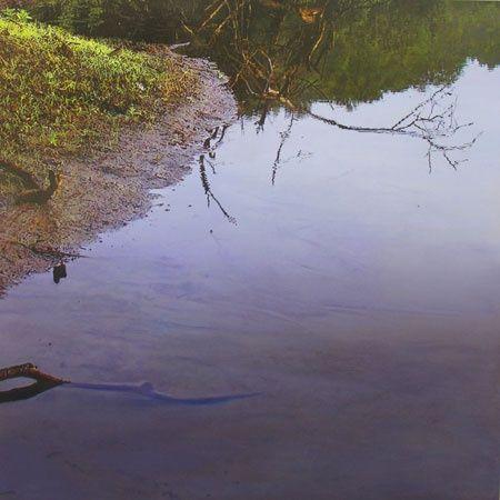 James Van Patten landscape painting.