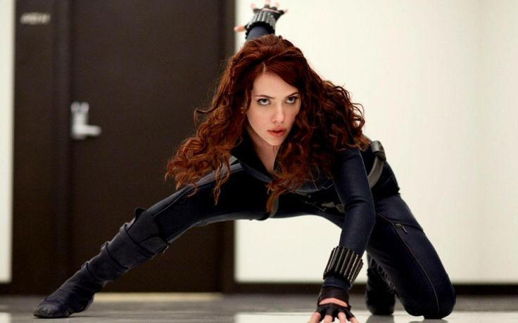 Scarlett Johansson as Black Widow / Marvel