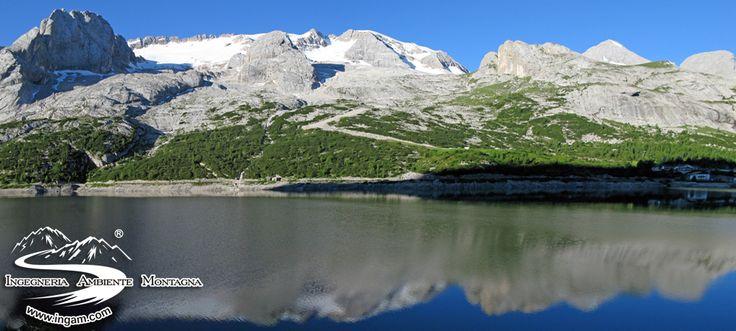 Passo Fedaia, Lago Fedaia, Marmolada