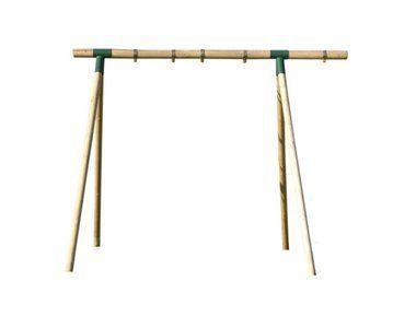 Zeer gemakkelijk in elkaar te zetten houten schommel.