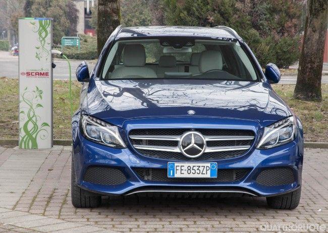 Mercedes Benz elettrica: la prova su strada di Quattroruote con la Classe C 350e SW