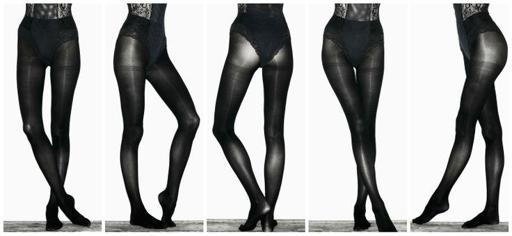 Wade & Belle Black tights