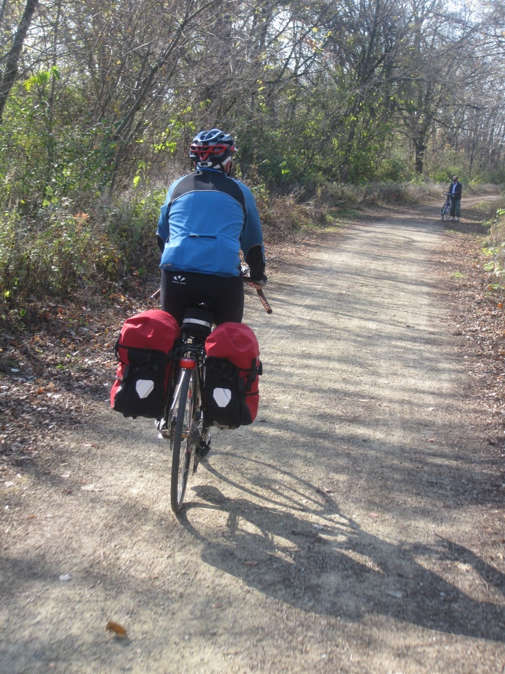Overnight bicycle touring