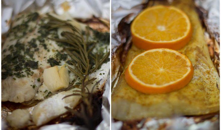 Zwei Viktoriabarsch Variationen, wie sie unterschiedlicher nicht sein könnten. Eine orientalisch-fruchtig, die andere bodenständig-würzig. Beide sehr zu empfehlen und passen hervorragend zum eher festen Fleisch des Viktoriabarschs.