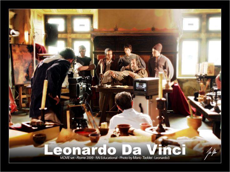 Leonardo Da Vinci  Movie Set 2009 - Roma Foto Mario Taddei  www.Leonardo3.net