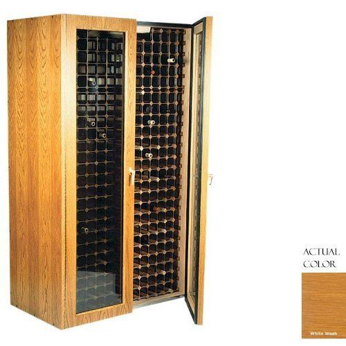 Vinotemp Vino-440tdg-ww 280 Bottle Wine Cellar - Glass Doors / Whitewash Cabinet by Vinotemp. $3939.00. Vinotemp VINO-440TDG-WW 280 Bottle Wine Cellar - Glass Doors / Whitewash Cabinet. VINO-440TDG-WW. Wine Cellars. This Wine Cellar features two double paned glass doors with piano hinges for a classic look to wine storage. The wine mate self contained cooling system ensures proper circulation while your wine is stored safely away. Digital temperature control make...
