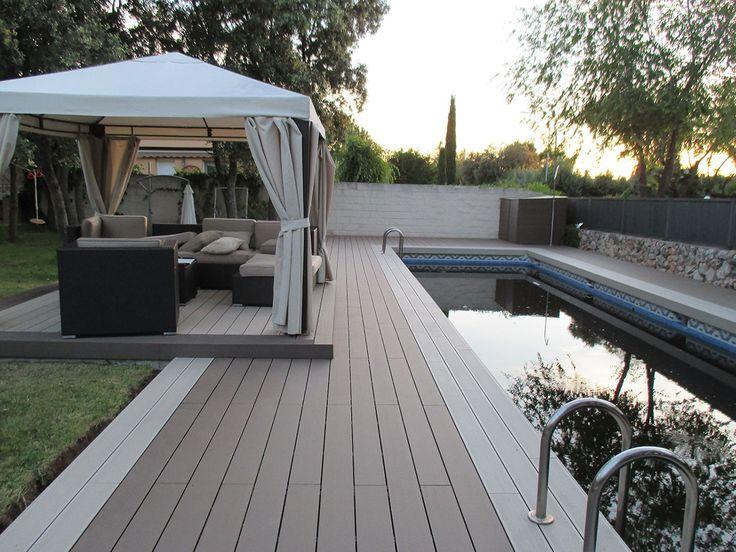 Tarima exterior piscina ¿qué piezas son las más adecuadas - bodenfliesen für küche