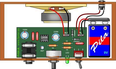 Como hacer 3 tipos de mini amplificadores - Taringa!