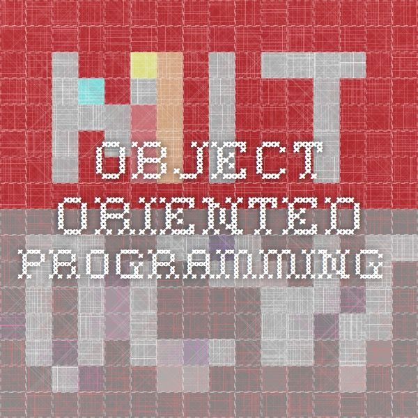 Mit Opencourseware Object Oriented Software Design