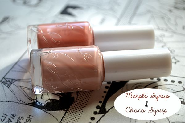 something♥beautiful: Etude House Look at my Nails #Marple Syrup und #Choco Syrup