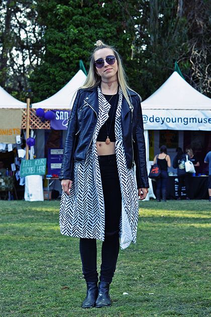 Outside Lands Was the Ultimate Fall Fashion Primer…and We've Got the Awesome Pics to Prove It