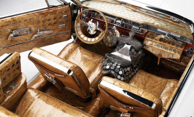 The Interior Of A Custom 1964 Pontiac Bonneville